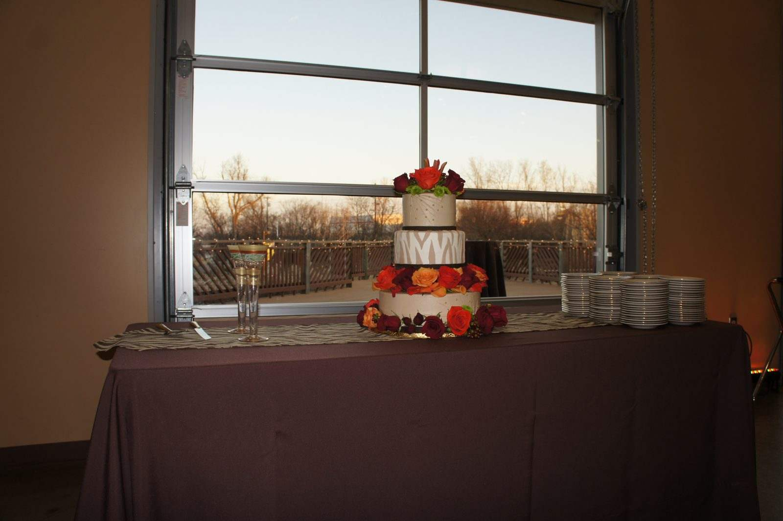 H.A. Chapman Event Lodge Wedding Cake