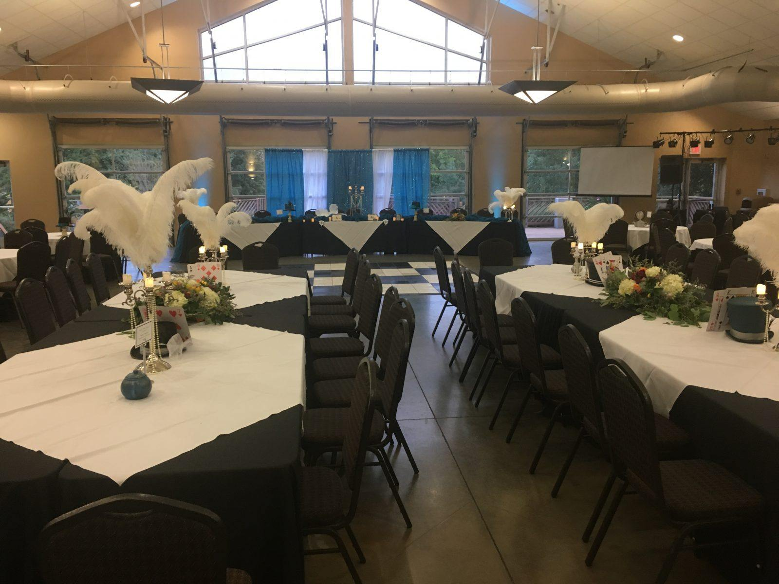 H.A. Chapman Event Lodge