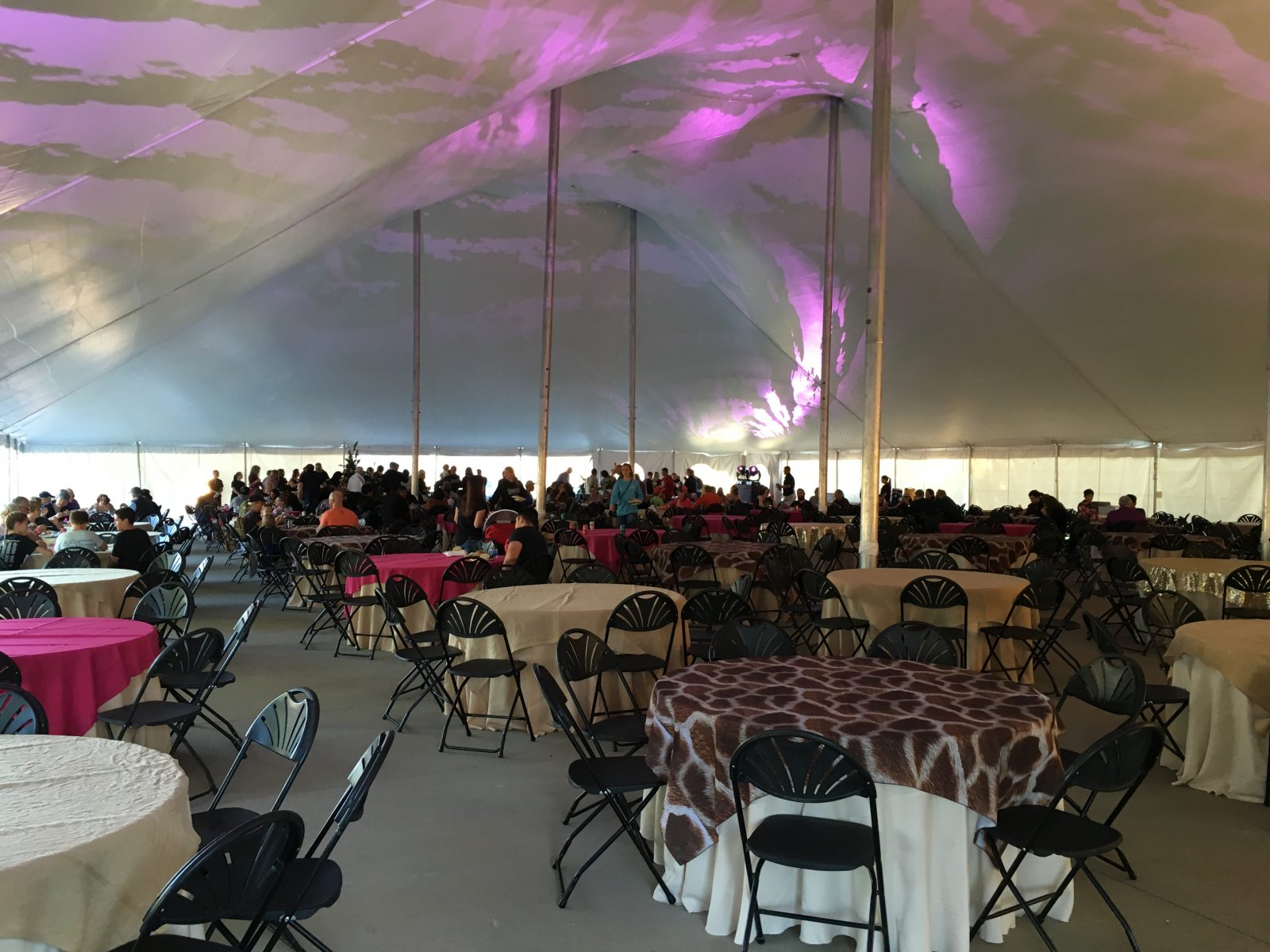 Weddings H A Chapman Event Lodge Tent