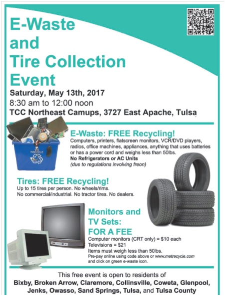 waste  tire collection event tulsa zoo
